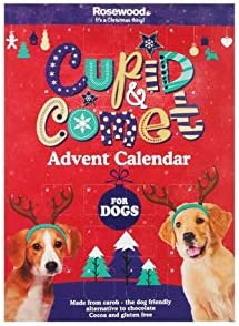 [해외]Advent Cupid & Comet Calender - for Dogs - Treat Your Pet This Christmas / Advent Cupid & Comet Calender - for Dogs - Treat Your Pet This Christmas