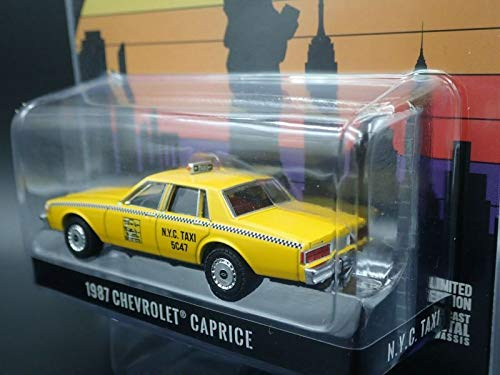 1987 Chevrolet Caprice Yellow N.Y.C. Taxi (New York City Taxi) Hobby Exclusive 1/64 Diecast Model Ca - http://coolthings.us
