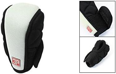 uxcell Automatic Car Gray Black Nylon Shift Knob Cover Protcetor Case
