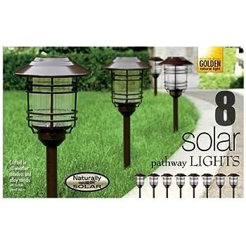 Amazon Com Naturally Solar Pathway Lights 8 Pack