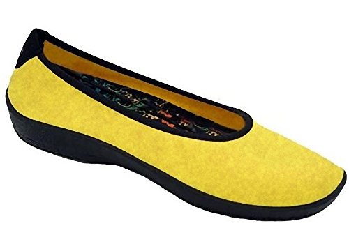 Arcopedico Lolita 2261 Women's Flat Ballerina Yellow