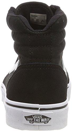 Iju Suede Donna Sneaker canvas white Nero canvas Vans Black Collo Maddie Hi A Alto suede qnwC8Z6xES