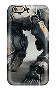 Holly M Denton Davis's Shop 9487831K94798021 High-end Case Cover Protector For Iphone 6(wolfenstein The New Order Artwork)