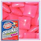 Dubble Bubble Pink Chiclets, 2LBS