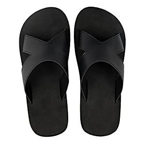 iLoveSIA Men's Athletic Slides Casual Daily Sandals