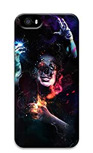 iPhone 5s Case, iPhone 5s Cases - Psychedelic Man Custom Design iPhone 5s Case Cover - Polycarbonate