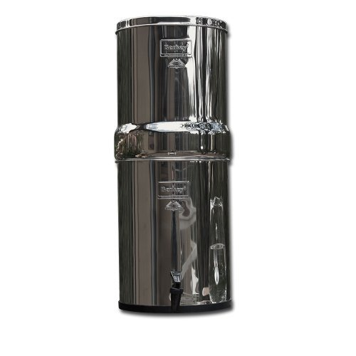 Berkey IMP6X2-BB Imperial Stainless Steel Water Filtration System with 2 Black Filter Elements by Berkey