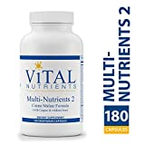 Cheap Vital Nutrients – Multi-Nutrients 2 – Citrate/Malate Formula (with Copper & Without Iron) – 180 Vegetarian Capsules