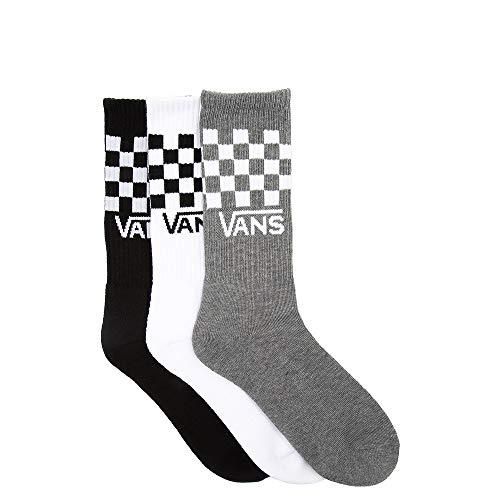 VANS | Classic Check Crew-Socks, 3-Pair