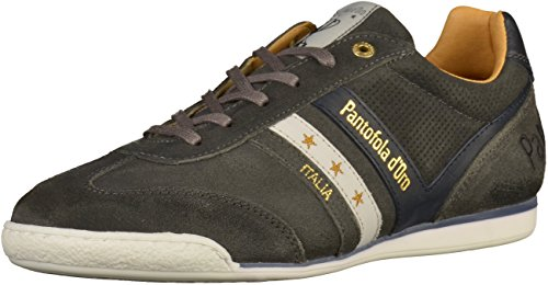 Pantofola dOro Vasto Suede Uomo Low, Scarpe Basse Uomo dark shadow (10173019.7ZW)