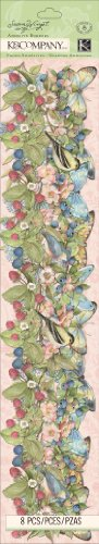 K&Company Floral Acetate Adhesive Border by Susan Winget