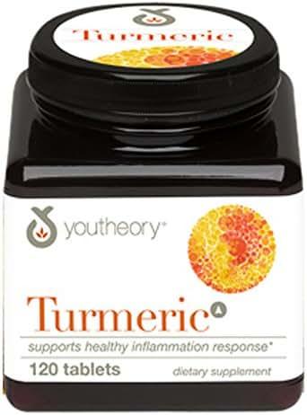 Youtheory Turmeric Advanced Formula Tablets 120 ea