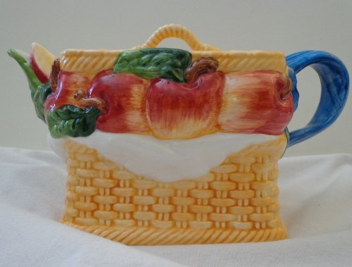 Teapot ~ Fruit Basket (Apples)