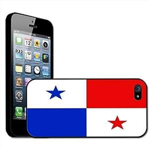 Fancy A Snuggle - Carcasa rígida para iPhone 5, diseño de la bandera de Panamá