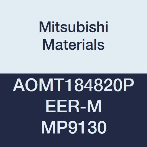 Pack of 10 Round Honing Mitsubishi Materials AOMT184820PEER-M MP9130 Coated Carbide Milling Insert Parallelogram 85/° Class E 0.189 Thick 0.079 Corner Radius
