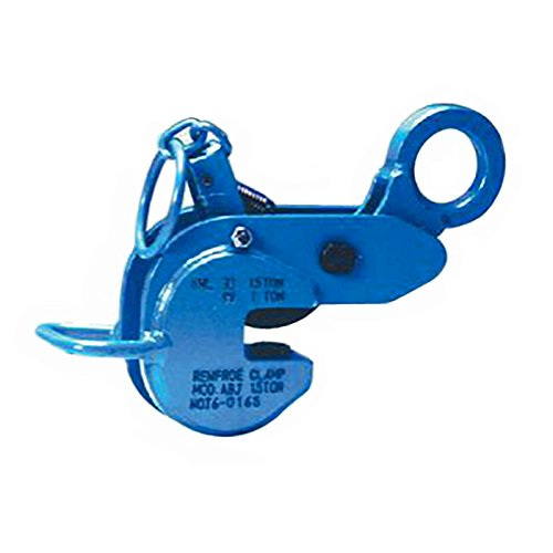 日本クランプ 横吊り縦吊り兼用クランプ ABJタイプ ラッチ式ロック装置付 ABJS75使用荷重(縦/横) 0.75/0.5t 使用有効寸法 3~23mm コT【代不】 B06WGR5N2G
