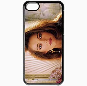 Personalized iPhone 5C Cell phone Case/Cover Skin Aishwarya Rai Black by supermalls