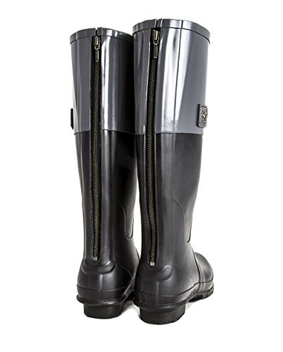 Absorbent Zipper Winning Grey Black Shock Free Tone Earl Footbed Handmade Award Two Rubber Womens Boots Natural Delivery FqHgxSY