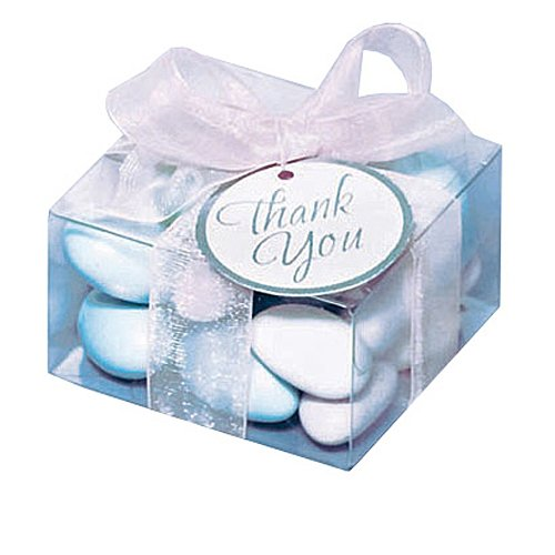 (Amscan 340326 Wedding Favor Box Kit, 2 1/4