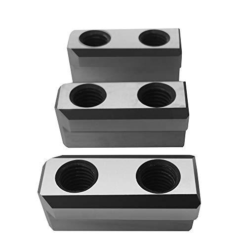 [해외]Turner 6 Steel Jaws T-Nut Set (3 PCS) for Kitagawa (B-206) Samchully AutoStrong Howa CNC Lathe Chucks / Turner 6 Steel Jaws T-Nut Set (3 PCS) for Kitagawa (B-206), Samchully, AutoStrong, Howa CNC Lathe Chucks