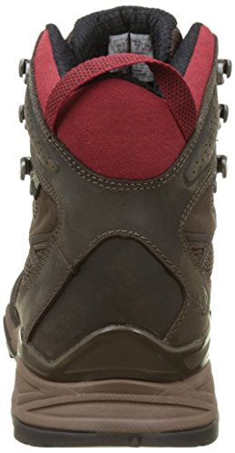 The North Face Hedgehog Hike Mid Gtx, Botas de Senderismo para Hombre Marrón (Dark Brown /             Rudy Red)