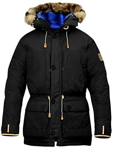 Fjallraven Men's Expedition Down Parka No.1, Dark Grey, M