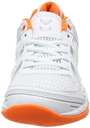 White Adults' Z6 Shoes Hummel 9001 Omnicourt Unisex Fitness Lo White 48pxIP