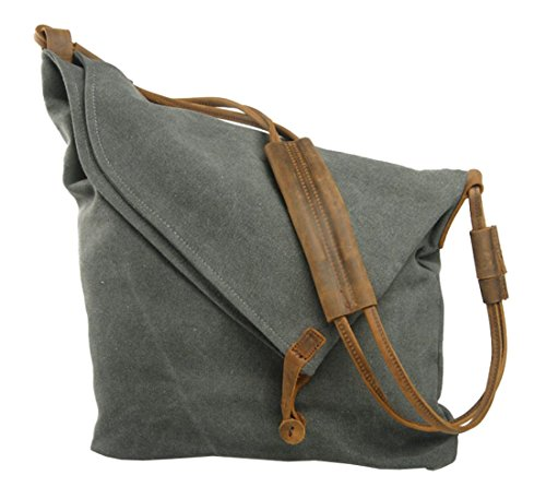 Iblue 15 Inch Casual Leather Canvas Shou - Fold Small Leather Shopping Results