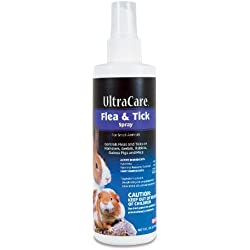 Eight in One (8 In 1) 8In1 UltraCare Flea and Tick Spray for Small Animals, 8 Ounces