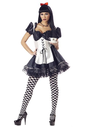 California Costumes Women's Malice In Wonderland Alice S Black