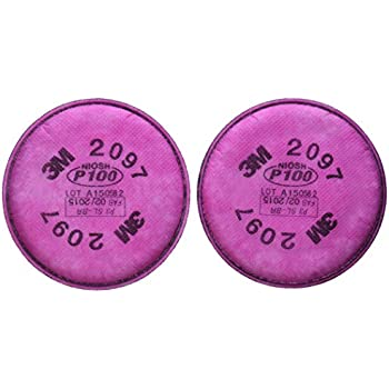 3M P100 Filter For 5000, 6000, 6500, 7000 And FF-4