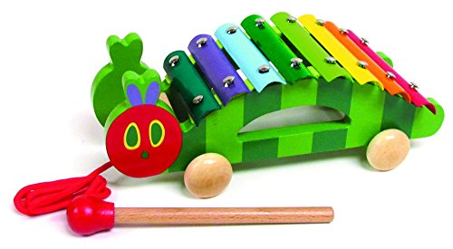 Kids Preferred Eric Carle The Very Hungry Caterpillar Pull Along Xylophone