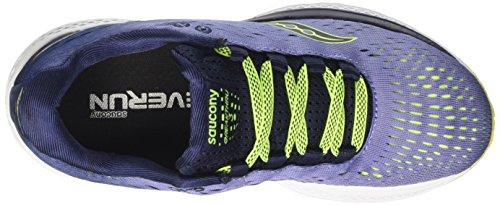 Zapatillas Mujer Saucony de 3 Purple Morado para Navy Running Breakthru wg44qEY