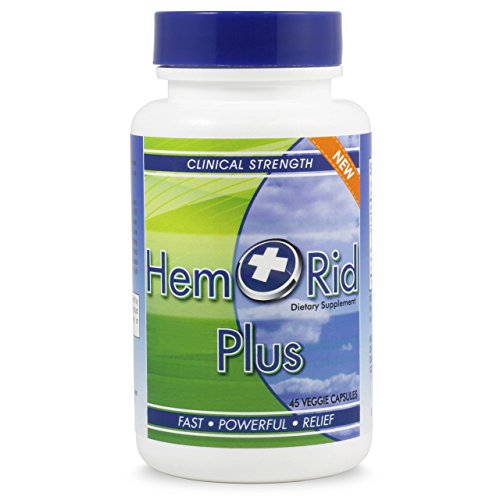 HemRid Plus - Get Faster Hemorrhoid Relief. Works Great with The Following Types of Hemorrhoid Treatment: Hemorrhoid Cream, Hemorrhoid Wipes, Hemorrhoid Ointment, Hemorrhoid Suppositories and Cushion ()