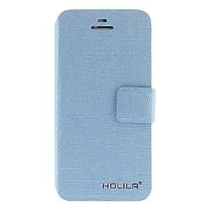 YULIN Patrón del cocodrilo de la calidad total para cuerpo con el soporte y la ranura para tarjeta para el iPhone 5/5S (colores surtidos) , Rose