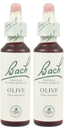 ((2 Pack) - Bach Original Flower Remedies - Olive | 20ml | 2 PACK BUNDLE)