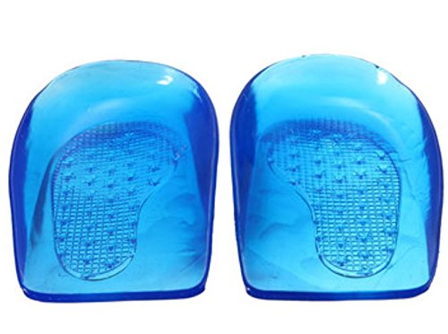 Price comparison product image 2pcs Silicone Orthotic Insole Arch Support Correction Heel Squishies Squishy Pads X Legs by Greenmarkets