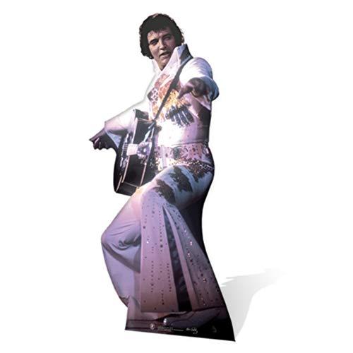 SC231 Elvis Presley White Jumpsuit Cardboard Cutout -