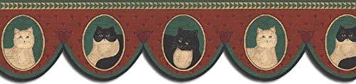 猫壁紙ボーダーb75686