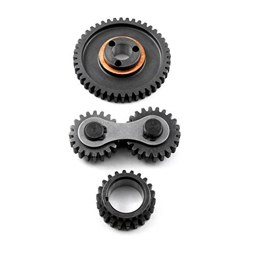 (fits Ford SB 289 302 351 Windsor Dual Idler Noisey Timing Gear Drive Set)