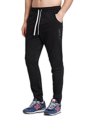 Baleaf Men's Tapered Athletic Running Pants
