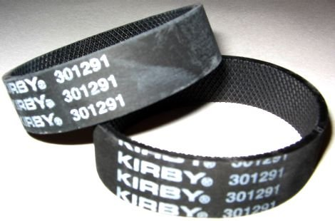 Ribbed Posts (Kirby Ribbed Vacuum Cleaner Belt, Fits: all Kirby upright vacuum cleaners 1960 to present, Kirby Number on belt 301291, 6 belts in pack)