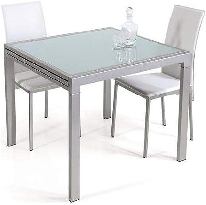 Tavoli Da Pranzo Importanti.Takestop Tavolo Da Pranzo Vetro Temperato Allungabile Fino 240x85