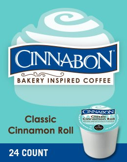 Cinnabon Classic Cinnamon Roll K-Cup Coffee by Cinnabon
