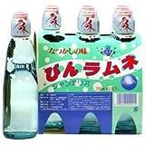 ハタ鉱泉 瓶ラムネ 胴シール無 (200ml×6本)×5パック