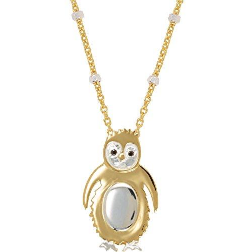 Bonyak Jewelry 18k Yellow Gold Vermeil Penguin Symbol for Loyalty 17