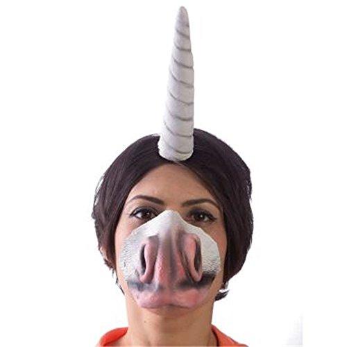 Hms Unicorn - HMS Unicornucopia Latex Unicorn Horn Costume