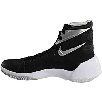 Nike Mens Hyperdunk 2015 Team Basketball Shoe (10.5 D(m) Us, Blackanthracitewhitemetallic Silver) 3