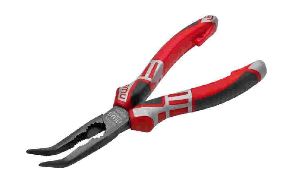 NWS pince à becs demi-ronds (Pince téléphonique) modèle courbe longueur 170mm 141–69–170 141-69-170 332565
