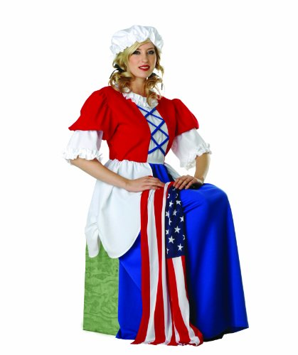RG Costumes Women's Betsy Ross, Red/White/Blue, One Size